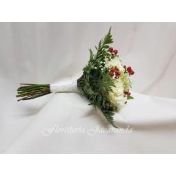 Ramo de novia de rosas e...